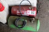 (2) Portable Air Compressor Tanks