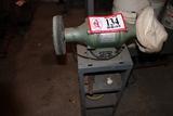 Pedestal Grinder Set Up w/ Buffing & Polishing Wheels