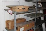 Contents Of Shelves: Dash Mats, Windshields, Grill Parts, Etc.