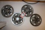 (4) GM Wheel Covers