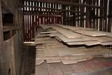 Contents of Wagon: Oak Lumber
