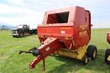 New Holland 648 Round Baler, Auto-Wrap
