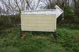 Lighted Portable Electric Sign Board w/ Letters