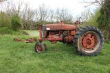 Farmall M Tractor w/ Belly Mower, Salvage