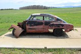 Antique Chevy 2 Door Coupe, Parts Only, No Title
