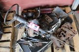 Contents of (2) Pallets: Steering Box, Steering Column, Brake Boosters, Muf