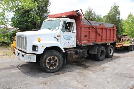 1995 International Model 2674 Tandem Axle Dump Truck, Cummins L10 Diesel, E