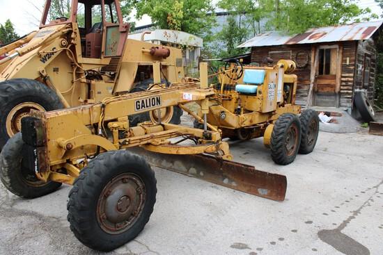 Gallion 503 Series L Motor Grader,  Detroit Diesel, 5812 Hrs, s/n GC-07130