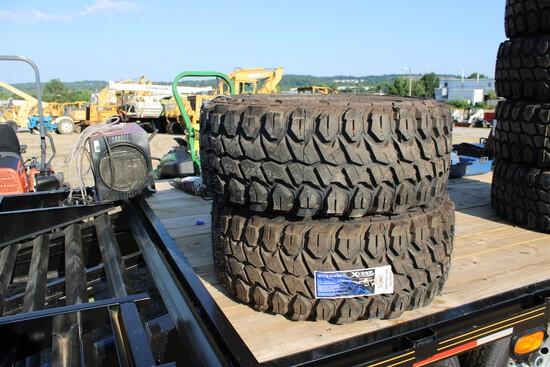 QTY 4) X Comp M/T 37x13.50x24 Tires