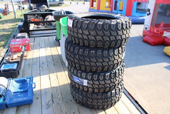 QTY 4) X Comp M/T 37x13.50x22 Tires
