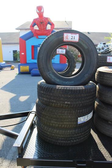 (4) Michelin Defender 255/70R16