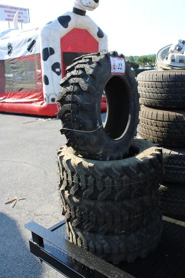 (4) Titan Trac Loader 8 x 8.50-15 Equipment Tires