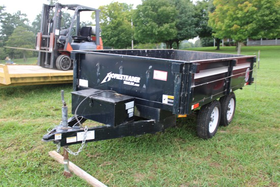 2009 Homesteader 2 Axle Dump Trailer w/ Electric Brakes, Vin 5HABD10269N001680
