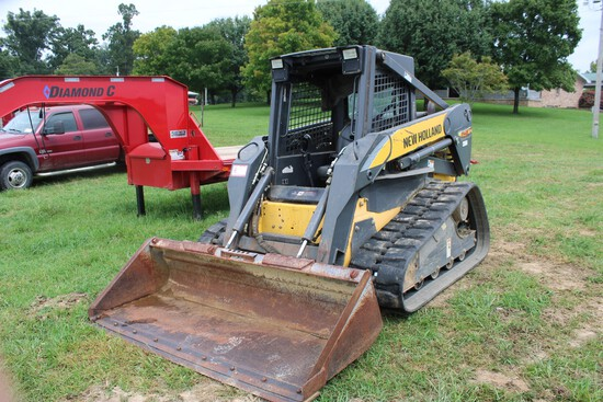 New Holland C190 Skid Steer Loader w/ Rubber Tracks, Hydraulic Quick Attach