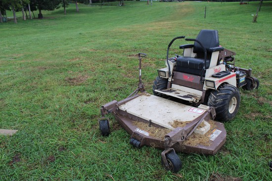 Grass Hopper 721 D Commercial Mower, Diesel, 2477 Hours