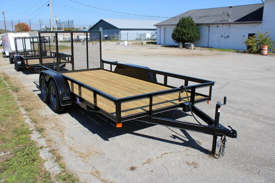Unused 2020 P&T 14ft Trailer