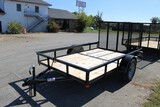 2020 P&T 6 x 10 Single Axle Trailer