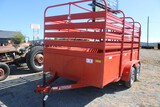 Fox Better Built Livestock Trailer