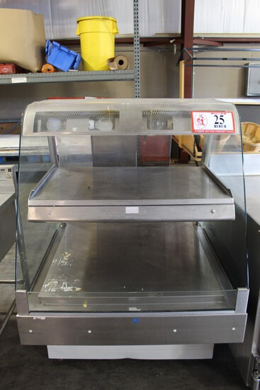 Hardt Reach In Food Display Warmer