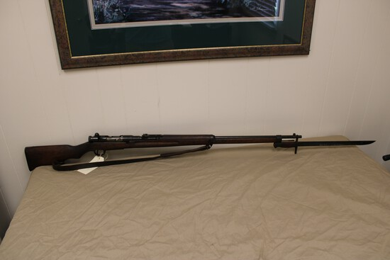 Arisaka Model 38 6.5 X51R Japanese WWII Rifle w/ Bayonet