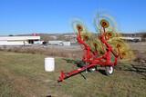 AGCO 4308 8 Wheel Hay Rake