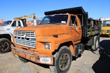 1984 Ford Single Axle Dump Truck