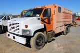 2004 GMC C6500 Single Axle Chipper Truck