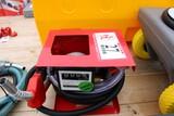 New 12v Diesel Fuel Pump w/ Flow Meter