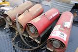 Universal Natural Gas Torpedo Heaters