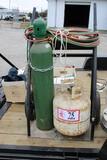 Oxygen Acetylene Torch Cart