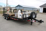 2016 Lone Wolf 20 Ft 2 Axle Trailer