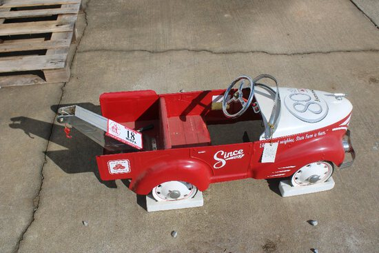 80th Anniversary State Farm Pedal Car