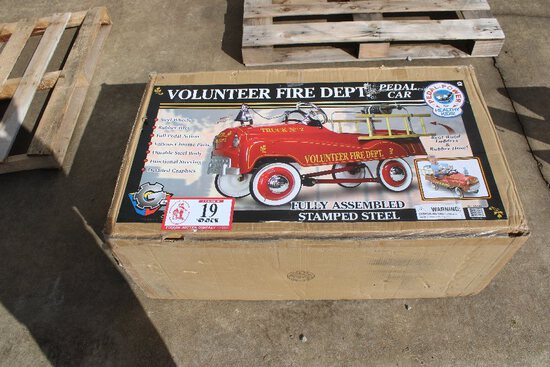 Volunteer Fire Department Pedal Car