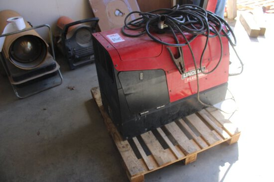 Lincoln Electric Gas Welder/Generator, 250 Amp