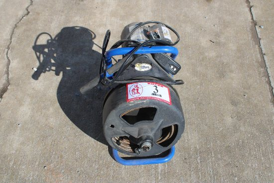 Cobra Sewer Auger, Electric