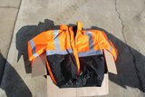New Safety Jackets, Reflective Orange and (2) Boxes of Safety Shirts