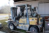 Yale Dual Front Tired 8000lb LP Gas Forklift, Non-Running