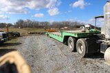 1999 Trail-Eze Beavertail Hydraulic Recovery Trailer w/ Winch, Dual Tandem,