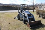 Earth Force  Loader/Backhoe, Gas Engine, 917 Hours, Needs Repair