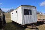 Action Mobile Home Industry Office Trailer, Approx. 30' - No Title