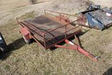 Single Axle Metal 5 x 8 Trailer - No Title Ever