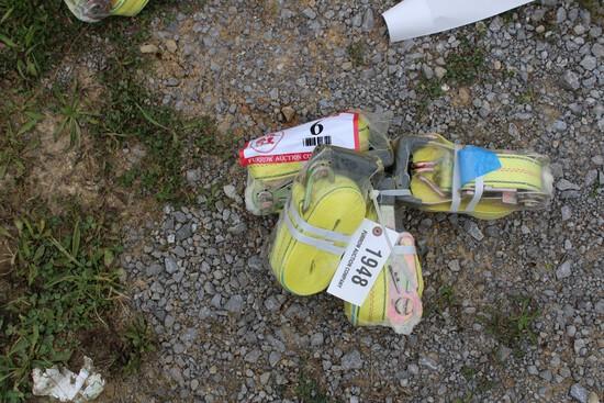 Bundle of (4) Ratchet Straps