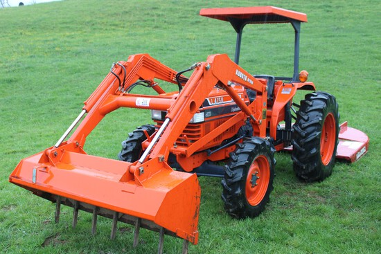 Kubota L 4150 Tractor