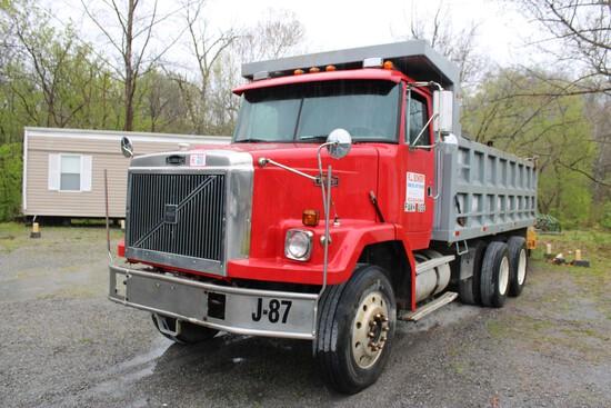 1987 Volvo/AutoCar Tandem Axle Dump Truck