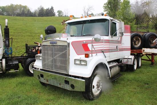 1986 Volvo/White Tandem Axle Truck Tractor