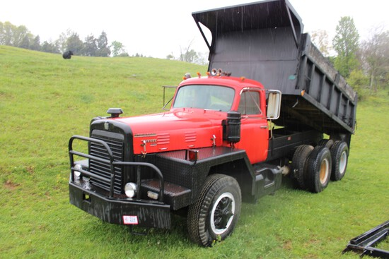 International 230 Dual Tandem Axle Dump Truck