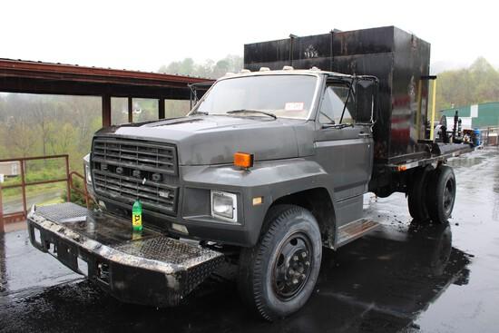 1984 Ford F 600 Fuel Truck
