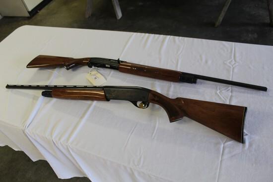 (2) Remington Model 1100 No. 2344 (1) 410 Ga.