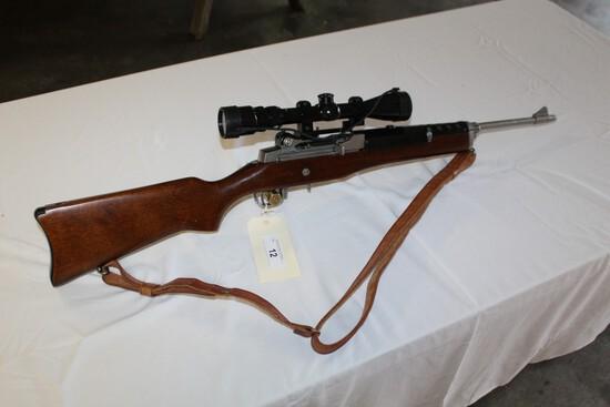 Ruger Mini 14 .223 w/ Bushnell 3X-9X Banner Optics