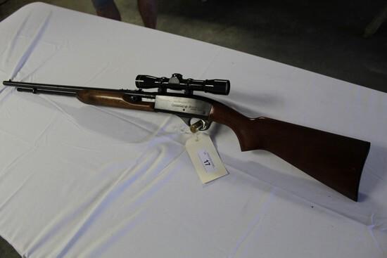 Remington Speedmaster Model 552 22S, L, LR, w/ Leupold M8-4X Compact Scope